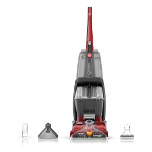 Hoover Power Scrub Deluxe Carpet Cleaner Machine- Quick dry technology