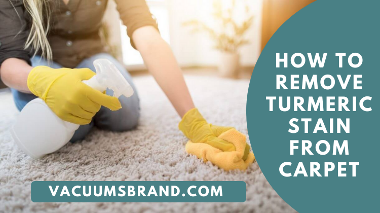 How to Remove Turmeric Stain from Carpet | Vacuumsbrand