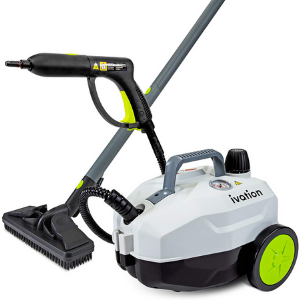 6) Ivation 1800W Canister Steam Cleaner